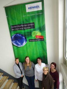 Gruppenbild des Auditingteams mit HENKEL-Vertretern